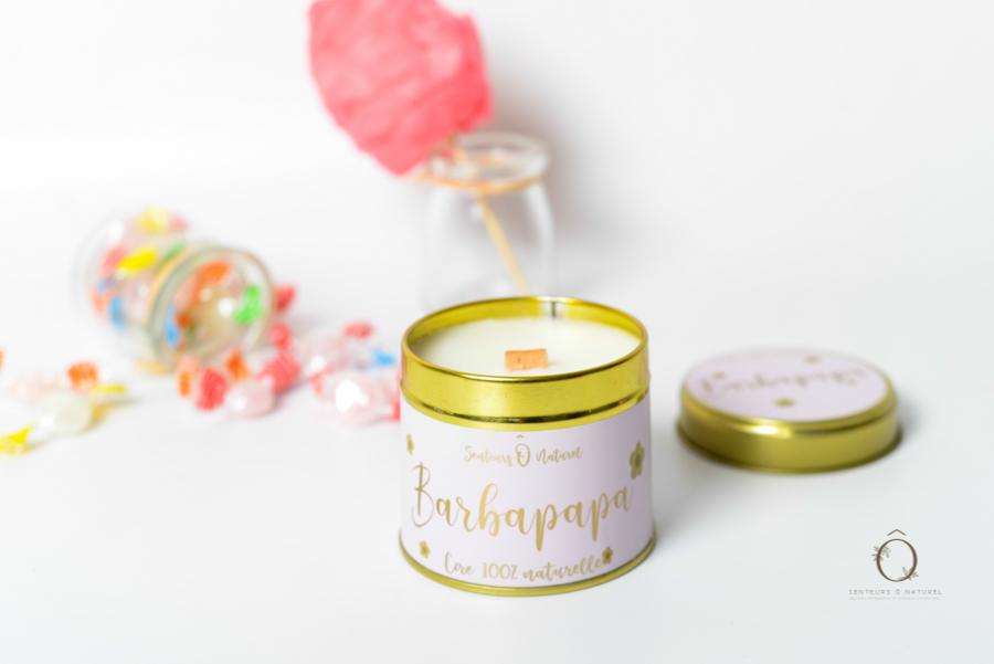 bougie parfum barbapapa