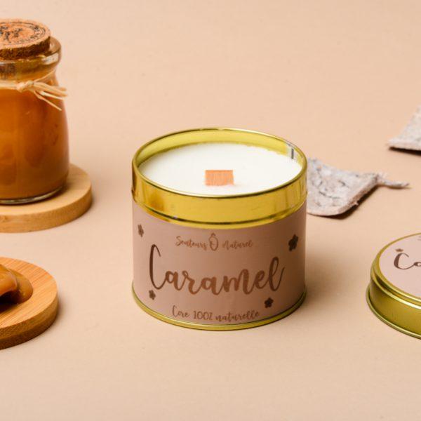 bougie parfum caramel